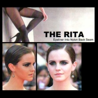 THE RITA ‎– Eyeliner Into Nylon Back Seam CD