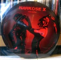NARKOSE X - Mindzha 7%22 Pic Disc (Mandat Nr. 25) (4iB Records)