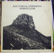 NOCTURNAL EMISSIONS - Spiritflesh LP (EARTH 004) (4iB Records)