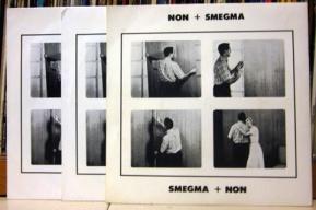 NON + SMEGMA - SMEGMA + NON 7%22 (MUTE 007) (4iB Records)