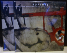 NURSE WITH WOUND & GRAHAM BOWERS - Rupture 2LP (DPPROMDLP93)