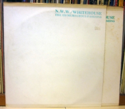NWW:WHITEHOUSE - The 150 Murderous Passions LP (UD 09) (4iB Records)