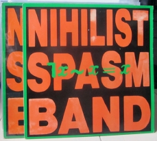 THE NIHILIST SPASM BAND - ¬x~x=x LP (UD 016)