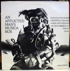 VARIOUS - An Afflicted Man's Musica Box 1st Pressing LP (UD 012) (4iB Records)