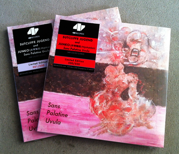 Sutcliffe Jugend and Junko CD (Shipping Out Now)