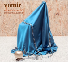 VOMIR - recouvre la merde CD (Main Cover - Front Right)