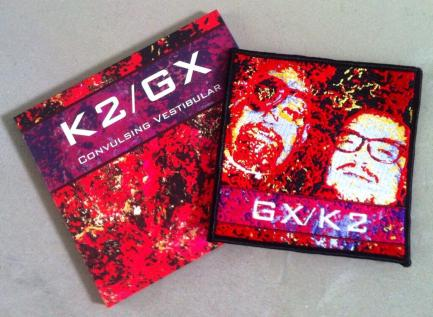 GX:K2 CD + Cloth Patch