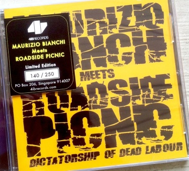 MB Meets RP CD With Sticker