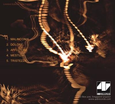 Maurizio Bianchi - Elegietroniche CD (Back)