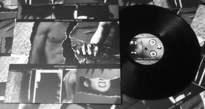 Richard Ramirez - Kept Perverse Mess LP Image (Ramirez)