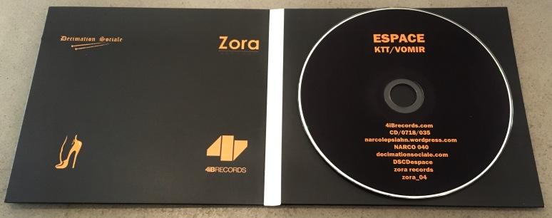 KTT & Vomir - Espace CD Inside